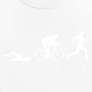 52371401 triathlon silhouetten Stock Vector Triath - mannen T-shirt ademend