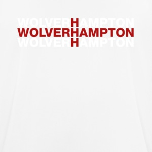 Wolverhampton United Kingdom Flag Shirt - Men's Breathable T-Shirt