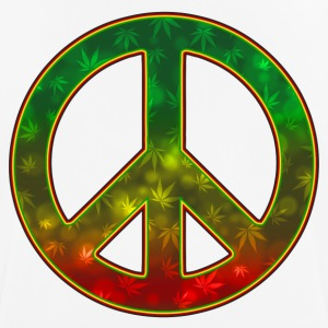 Rasta Peace - Men's Breathable T-Shirt