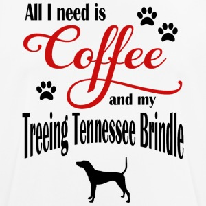 Treeing Tennessee Brindle Coffee - mannen T-shirt ademend