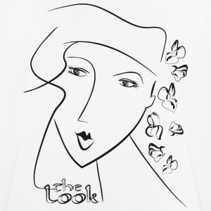 Face 8A (serie The Look) - Herre T-shirt svedtransporterende