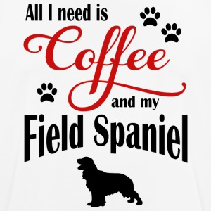 Field Spaniel Coffee - Men's Breathable T-Shirt