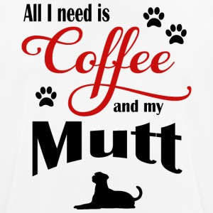 Mutt Coffee - Men's Breathable T-Shirt