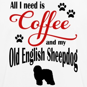 Old English Sheepdog Coffee - Men's Breathable T-Shirt