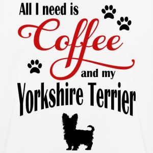 Yorkshire Terrier Coffee - Men's Breathable T-Shirt
