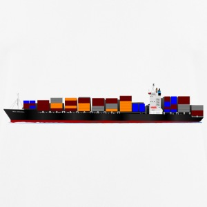 Container Ship - Men's Breathable T-Shirt