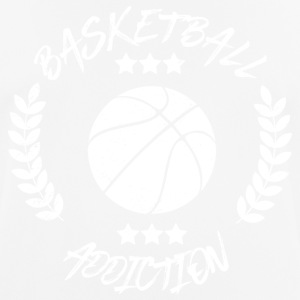 Basketbal Addiction - Verslaving Balsporten - mannen T-shirt ademend