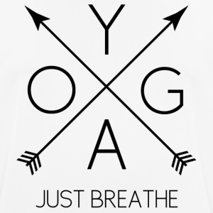 YOGA Just Breathe - noir - T-shirt respirant Homme