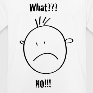 Smilie ... what ?? no !! - Men's Breathable T-Shirt