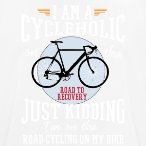 I am a cycleholic on the road to recovery - Men's Breathable T-Shirt