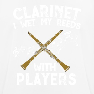 Clarinet Music Design - Men's Breathable T-Shirt