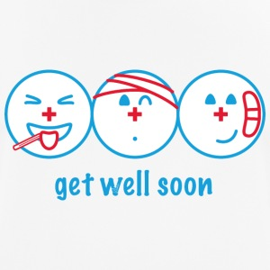Get Well Soon - mannen T-shirt ademend