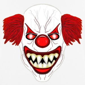Horror Clown - Männer T-Shirt atmungsaktiv