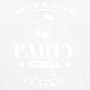 Party grill · Classic · Pig - Men's Breathable T-Shirt