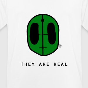 They Are Real - Men's Breathable T-Shirt
