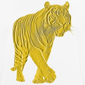 Golden Tiger - mannen T-shirt ademend