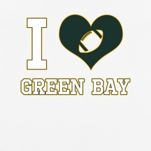 I love Green Bay - Männer T-Shirt atmungsaktiv