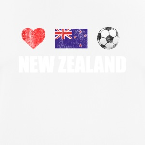 New Zealand Football Shirt - New Zealand Soccer Je - Andningsaktiv T-shirt herr