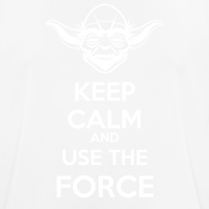 Use The Force Yoda - mannen T-shirt ademend