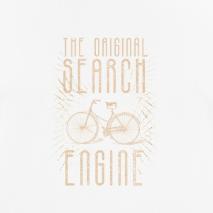 The Original Search for Bicycle Engine - Men's Breathable T-Shirt