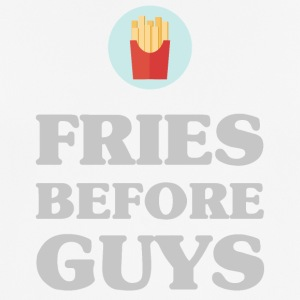 FRIES BEFORE GUYS - Men's Breathable T-Shirt