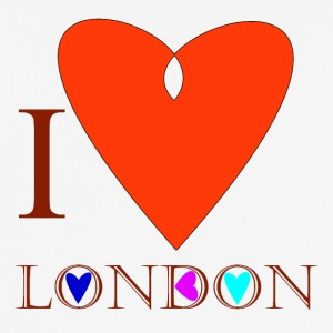 I Love London A - T-shirt respirant Homme