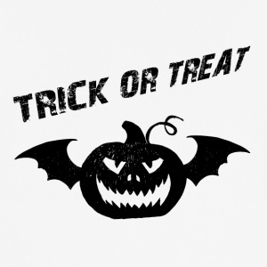 Trick or Treat trick eller behandling Halloween taske - Herre T-shirt svedtransporterende