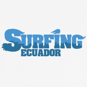 ECUADOR Surfing Country Water - Men's Breathable T-Shirt