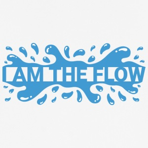 Ik ben The Flow - mannen T-shirt ademend