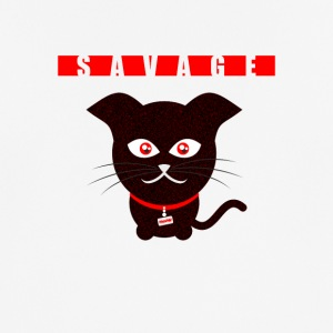 Savage Cat - Männer T-Shirt atmungsaktiv