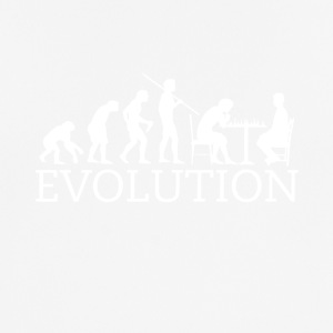 Skak - Evolution - Herre T-shirt svedtransporterende