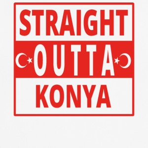 Straight outta Konya TUERKEI - Men's Breathable T-Shirt