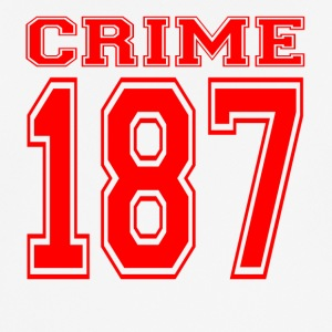 Crime 187 crime street criminal red - Men's Breathable T-Shirt
