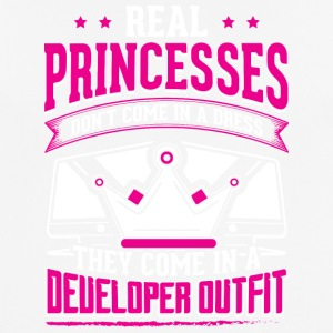 REAL PRINCESSES developer - Männer T-Shirt atmungsaktiv