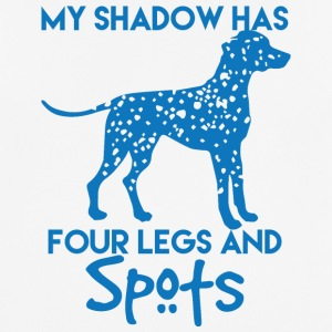Dog / Dalmatian: My Shadow Has Four Legs And - Men's Breathable T-Shirt