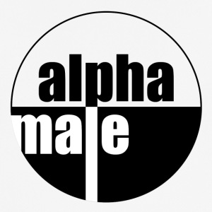 Alpha male - mannen T-shirt ademend