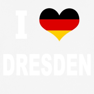 I Love Germany DRESDEN - Pustende T-skjorte for menn