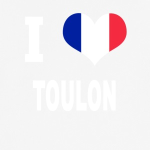 I Love TOULON - Pustende T-skjorte for menn
