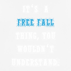 Free Fall Thing - mannen T-shirt ademend