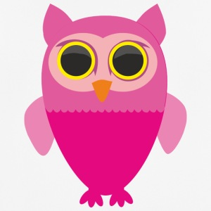 Pink owl - Men's Breathable T-Shirt