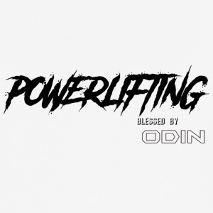 BLESSED BY ODIN powerlifting - Men's Breathable T-Shirt