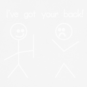 i've got your back - Männer T-Shirt atmungsaktiv
