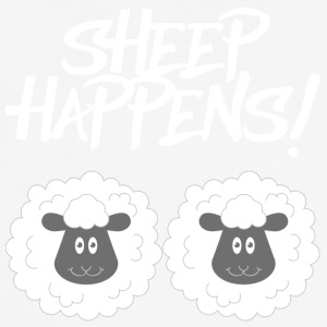 Sheep / Farm: Sheep Happens! - Men's Breathable T-Shirt