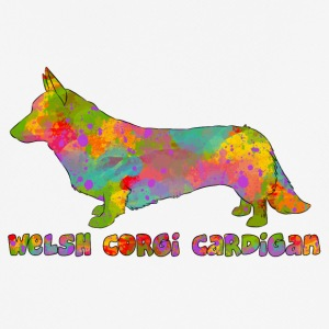 Welsh Corgi Cardigan Multicolored - Men's Breathable T-Shirt