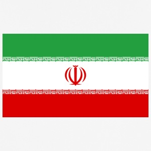 National Flag Of Iran - Herre T-shirt svedtransporterende