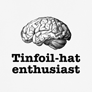 Tinfoil-hat Enthusiast - Pustende T-skjorte for menn