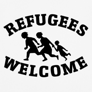 Welcome refugees - Männer T-Shirt atmungsaktiv