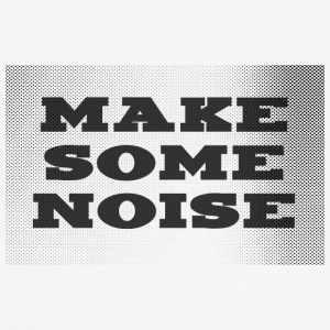 Make some noise - Andningsaktiv T-shirt herr