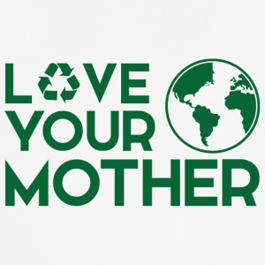 Earth Day / Dag: Love Your Mother - mannen T-shirt ademend