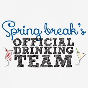 Spring Break Officiële Drinkende Team - mannen T-shirt ademend